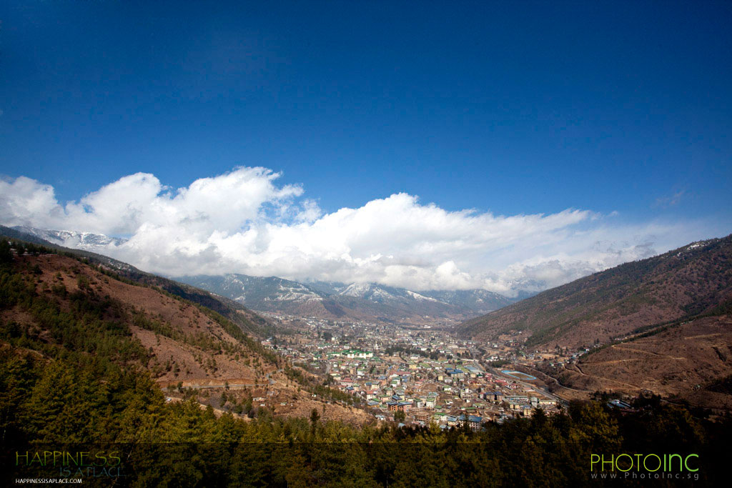 how to go to bhutan from singapore